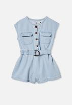 Cotton On - Remi playsuit - blue