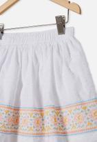 Cotton On - Sully skirt - white