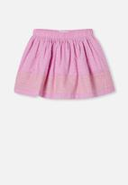 Cotton On - Sully skirt - purple