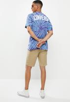 Converse - Converse tie dye multi graphic tee  - blue & purple
