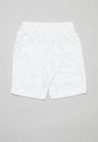 POP CANDY - 2 Pack fleece shorts - blue & white