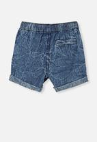 Cotton On - Danny short - chambray wash