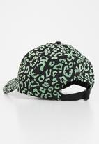 New Era - Flocked 9forty new york yankees - green & black