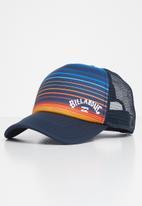 Billabong  - Range trucker - navy & orange