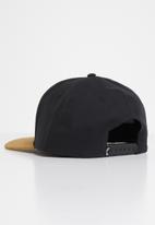 Billabong  - Stacked snapback cap - black & tan