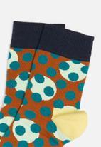 Happy Socks - Dots dots dots 1/2 crew sock - multi