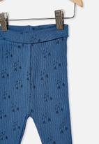 Cotton On - Organic newborn legging - multi