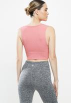 Cotton On - Lifestyle seamless longline vestlette - pink