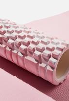 Cotton On - Foam roller - blush swirl