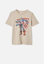 Cotton On - Co-lab short sleeve tee - neutral