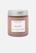 SUKI SUKI Naturals - Açaí Gentle Exfoliating Mask - 100g
