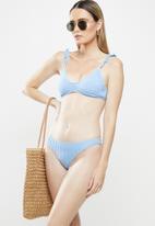 Cotton On - Full bikini bottom - blue