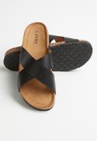 Jada - Criss-cross slide - black