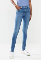 Levi's® - 720 hirise super skinny walking contrad - blue