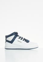 UrbanArt - Conti leather hi-top sneakers - white
