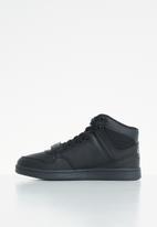 UrbanArt - Conti leather hi-top sneakers - black