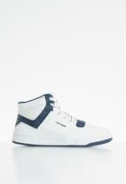UrbanArt - Youth conti leather hi-top sneakers - white
