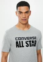 Converse - Heritage graphic tee - grey