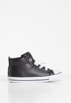 Converse - Chuck Taylor All Star street spring essentials mid i  - black & white