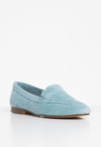 ALDO - Joeya suede loafer - blue