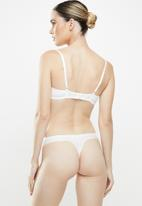 MAGIC®  Bodyfashion - 2 Pack dream invisibles thongs - snow white