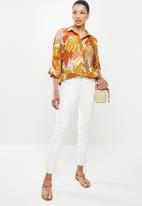 edit - Boxy shirt - orange