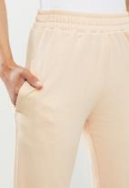 Missguided - Basic jogger - stone