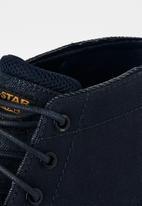 G-Star RAW - Garber derby boot - dk saru blue