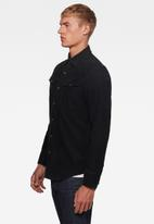 G-Star RAW - 3301 Slim long sleeve shirt - black