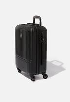 Typo - Sml 19inch hard suitcase - black