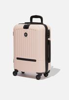 Typo - Sml 19inch hard suitcase - blush