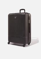 Typo - Med 24inch hard suitcase - black