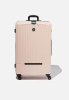Typo - Lrg 28inch hard suitcase  - blush