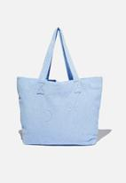 Rubi - Hello sunshine tote - poolside blue