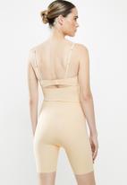 MAGIC®  Bodyfashion - Maxi sexy hi-bermuda - beige