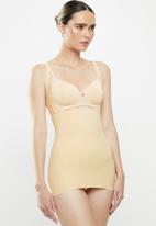 MAGIC®  Bodyfashion - Maxi sexy wear your own bra top - beige