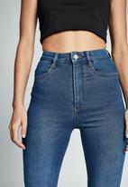 Cotton On - Ultra high super stretch jean - berkley blue pokets