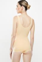 MAGIC®  Bodyfashion - Maxi sexy tank top - beige