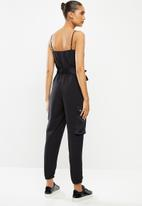Sissy Boy - Be yourself jumpsuit - black