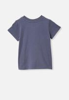 Cotton On - Jamie short sleeve tee - navy