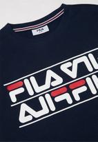FILA - Conner T-shirt - navy