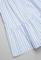 Superbalist Kids - A-line summer dress - blue & white