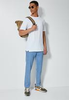 Superbalist - 3 pack Barney longline curved hem tee - white