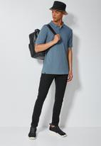Superbalist - Luka slim pique pocket golfer - blue