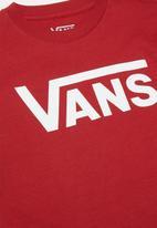 Vans - Vans classic kids - red & white