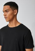 Superbalist - York premium crew neck tee - black