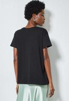 Superbalist - Printed tee - black