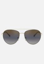 Michael Kors - Aventura pilot sunglasses  - blue gradient mirror