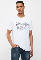 Wrangler - Wrangler Carolina tee - white