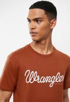 Wrangler - Classic tee - Arabian spice